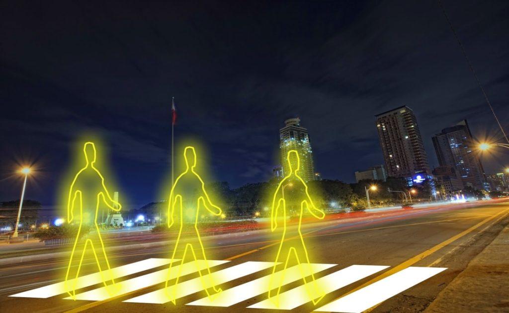 aktywne bezpieczne przejście dla pieszych